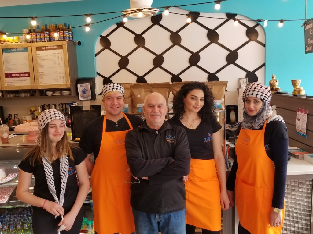 Yafa Cafe Team