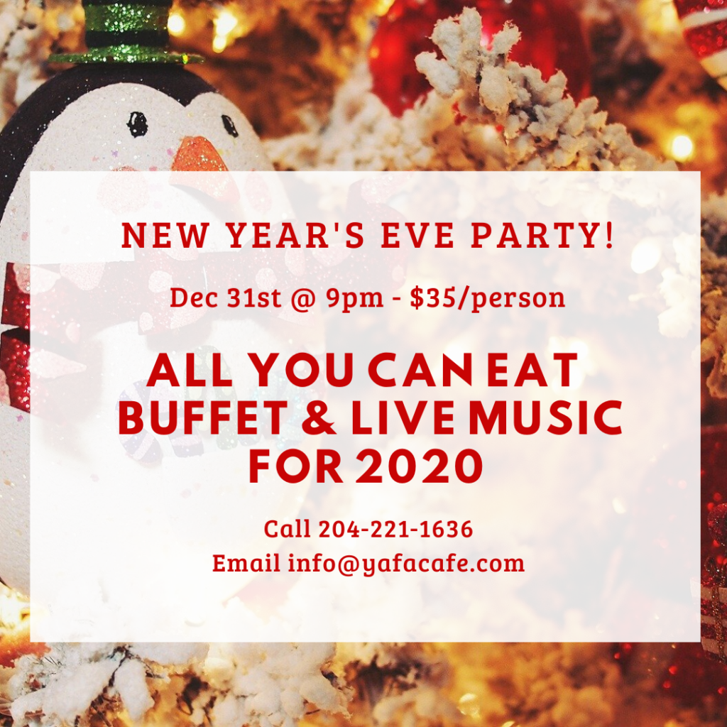 New Year's Eve Party at Yafa Café_IG