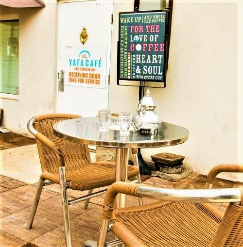 Yafa Café patio furniture