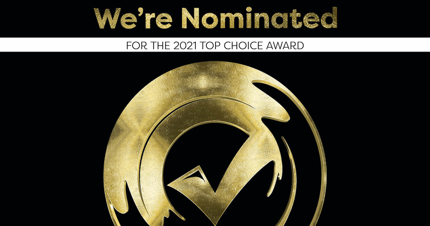 Top Choice Nomination Badge